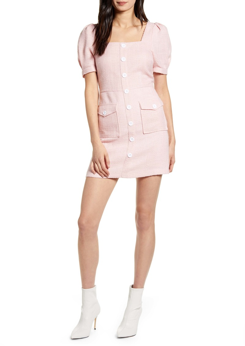 Endless Rose Puff Sleeve Minidress