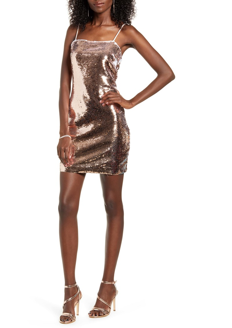 Endless Rose Sequin Body-Con Dress