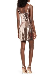 Endless Rose Sequin Body-Con Dress