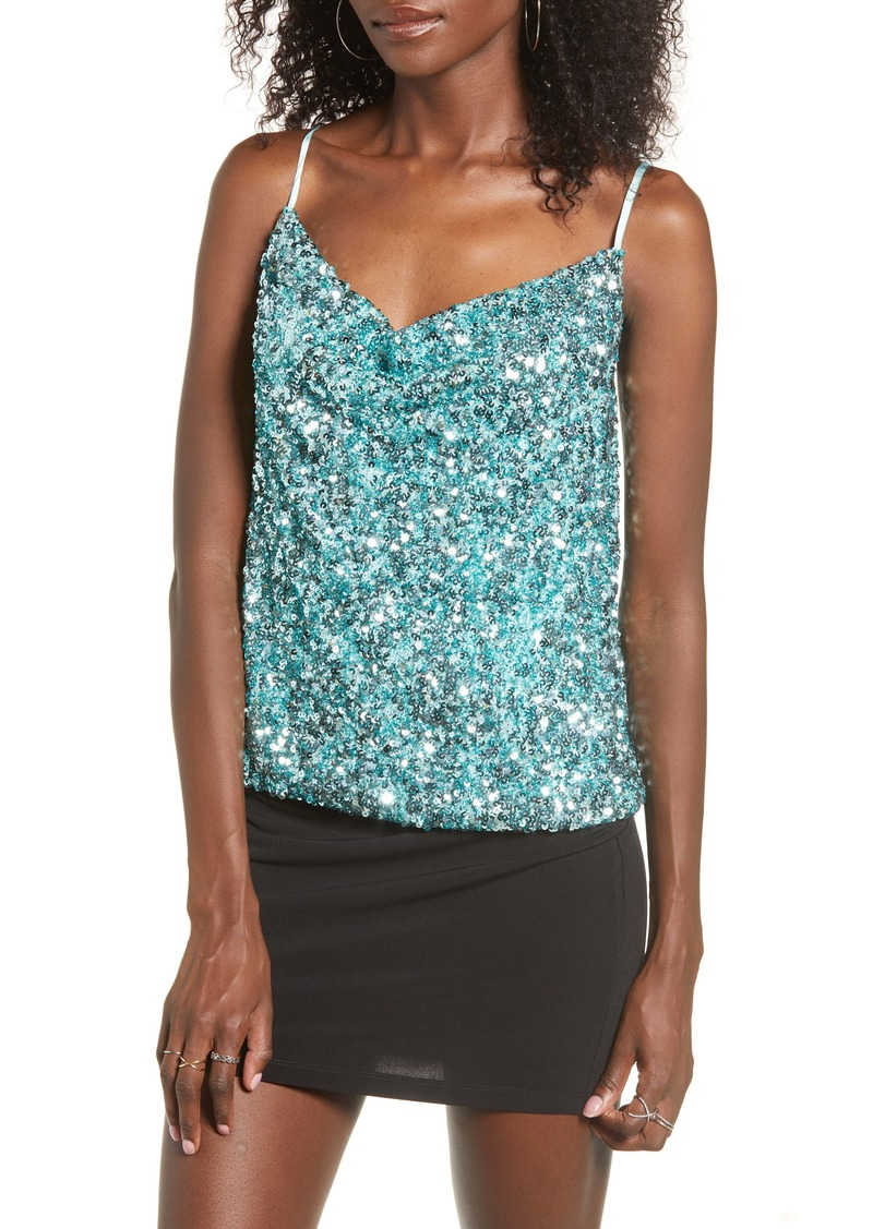 Endless Rose Sequin Camisole Top