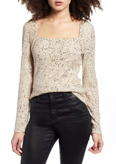 Endless Rose Sequin Knit Top