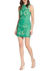 Endless Rose Sleeveless Lace Sheath Dress