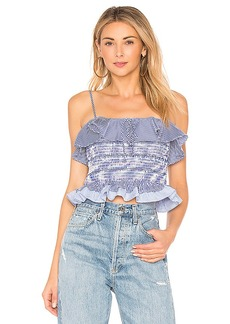 Endless Rose Smocked Ruffle Top