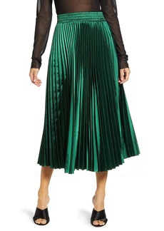 Endless Rose Sunburst Pleated Skirt