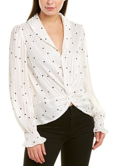 Endless Rose Twisted Blouse