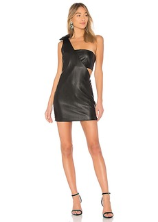 Endless Rose X REVOLVE One Shoulder Faux Leather Dress