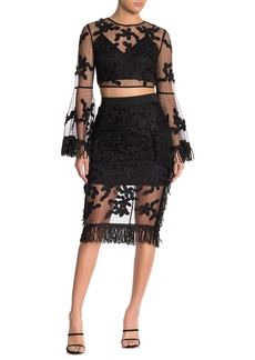 Endless Rose Floral Lace Skirt