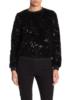Endless Rose Floral Sequin Sweater