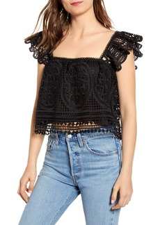 Endless Rose Lace Crop Top