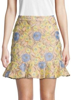 Endless Rose Lace Mini Skirt