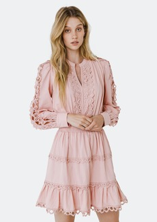 Endless Rose Lace Trim Detail Dress - S - Also in: M, XS, L