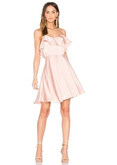 Endless Rose Ruffled Fit and Flare Dress