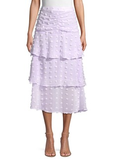 Endless Rose Tiered Midi Skirt