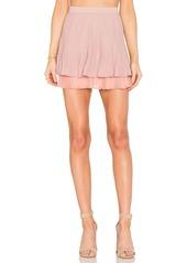 Endless Rose Two Tier Pintuck Skirt