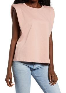 Women's Endless Rose Padded Shoulder T-Shirt