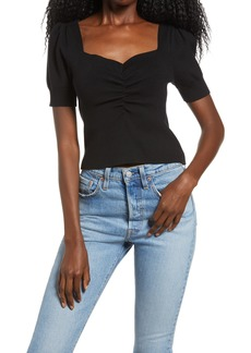 Women's Endless Rose Ruched Front Top