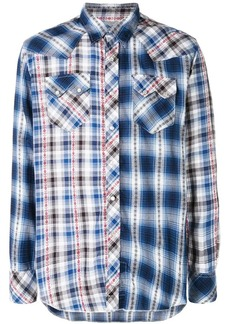 Engineered Garments contrast plaid shirt