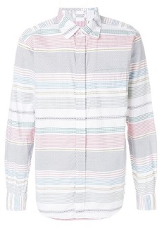 Engineered Garments Dobby stripe shirt