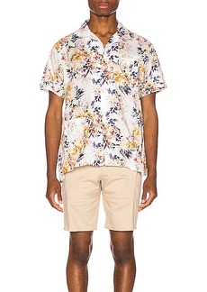 Engineered Garments Camp Shirt Botany Printed Lawn