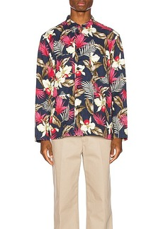 Engineered Garments Dayton Shirt Hawaiian Floral Java Cloth