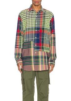 Engineered Garments Spread Collar Shirt