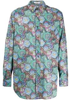 Engineered Garments floral long-sleeve shirt