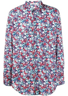 Engineered Garments floral print long-sleeve shirt