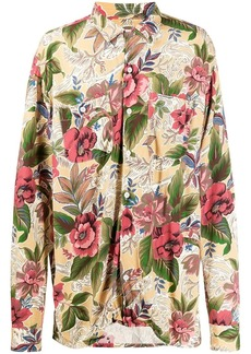 Engineered Garments floral print shirt