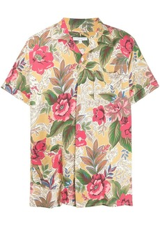 Engineered Garments floral print short-sleeve shirt
