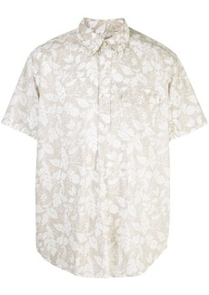 Engineered Garments floral short-sleeved shirt