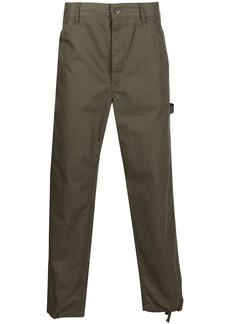Engineered Garments logo-patch straight-leg trousers