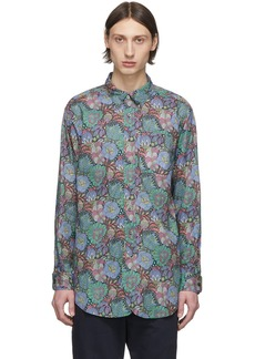 Engineered Garments Multicolor Floral Print Shirt