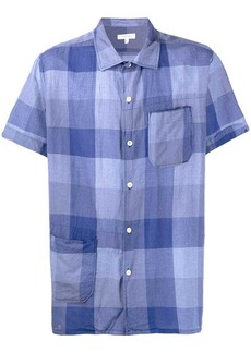 Engineered Garments plaid short-sleeve shirt