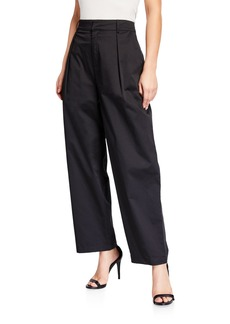 English Factory Baggy Pleated Trousers