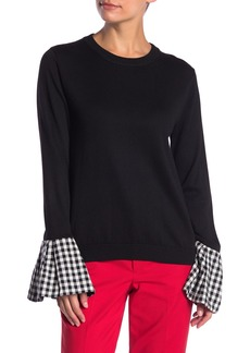 English Factory Bell Sleeve Sweater
