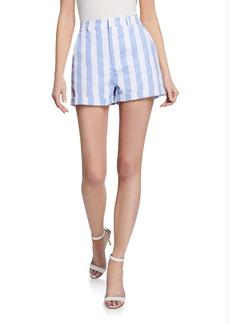 English Factory Casual Striped Bermuda Shorts