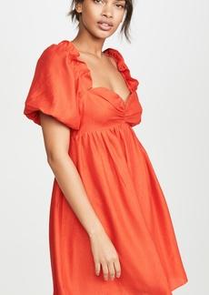 ENGLISH FACTORY Balloon Sleve Mini Dress