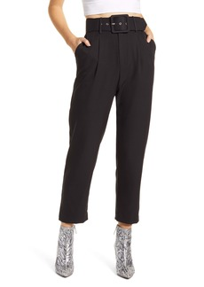 English Factory Belted Crop Trousers