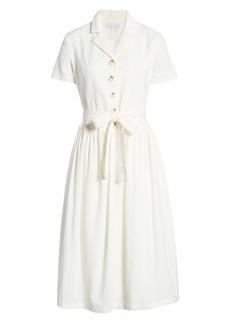 English Factory Belted Shirtdress