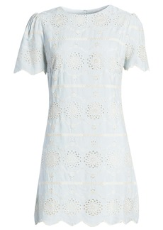 English Factory Eyelet Shift Dress