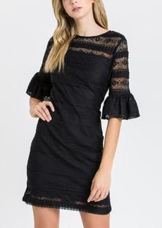 English Factory Knit Lace Dress