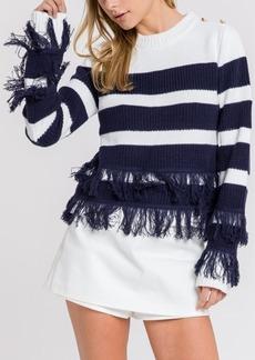 English Factory Nautical Knit Sweater