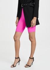 ENGLISH FACTORY Neon Pink Bike Shorts