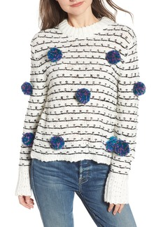 English Factory Pompom Chunky Sweater