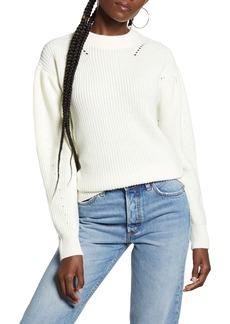 English Factory Puff Sleeve Sweater
