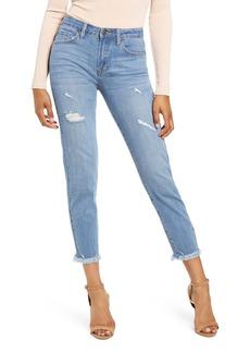 English Factory Raw Hem Skinny Jeans