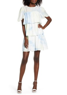 English Factory Tiered Ruffle Shift Dress