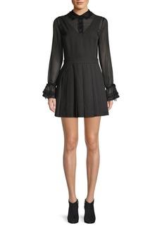 English Factory Lace-Trimmed Mini Combo Dress