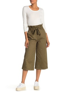 English Factory Pineapple Embroidered Culottes