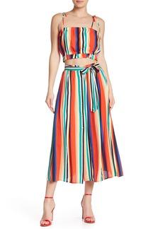English Factory Rainbow Midi Skirt